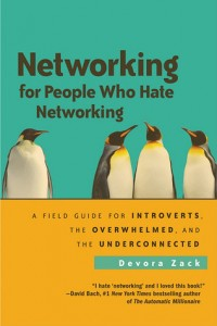 From the Bookshelf: Devora Zack, Networking for People Who Hate Networking
