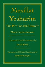 From the Bookshelf: Ira Stone, Mesillat Yesharim: The Path of the Upright
