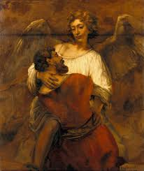 Rembrandt - Jacob Wrestling With Angel