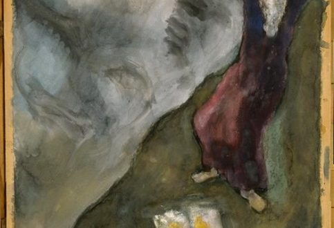 Marc Chagall, Moses Breaks Tablets of Law