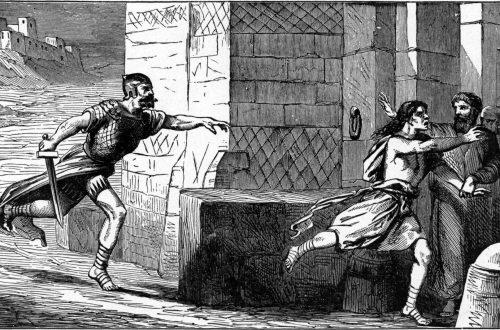 fleeing to city of refuge